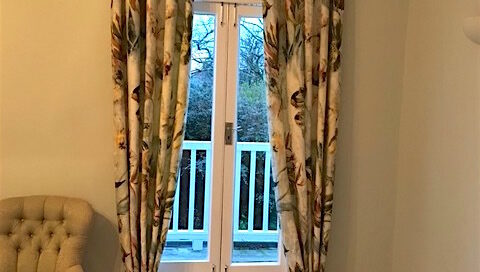 Made to measure, Designers guild fabric, interlined curtains