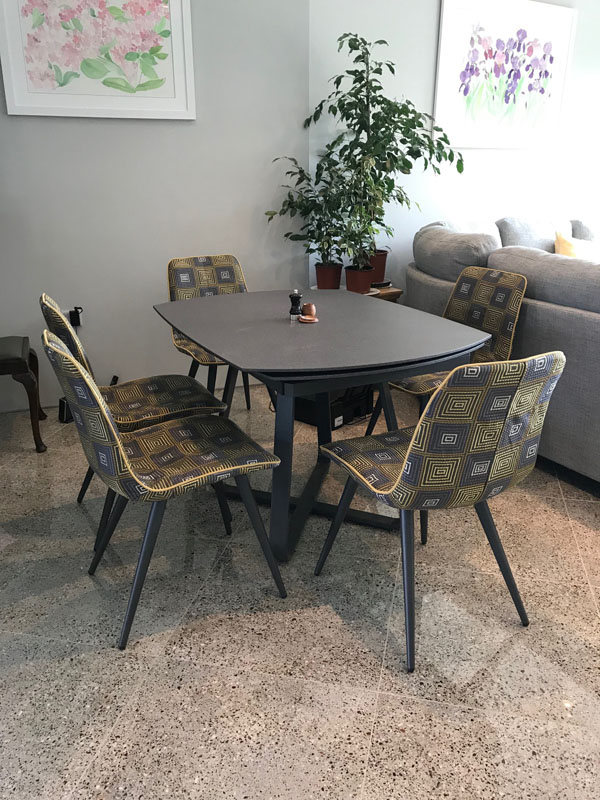 Loose covers for dining room chairs