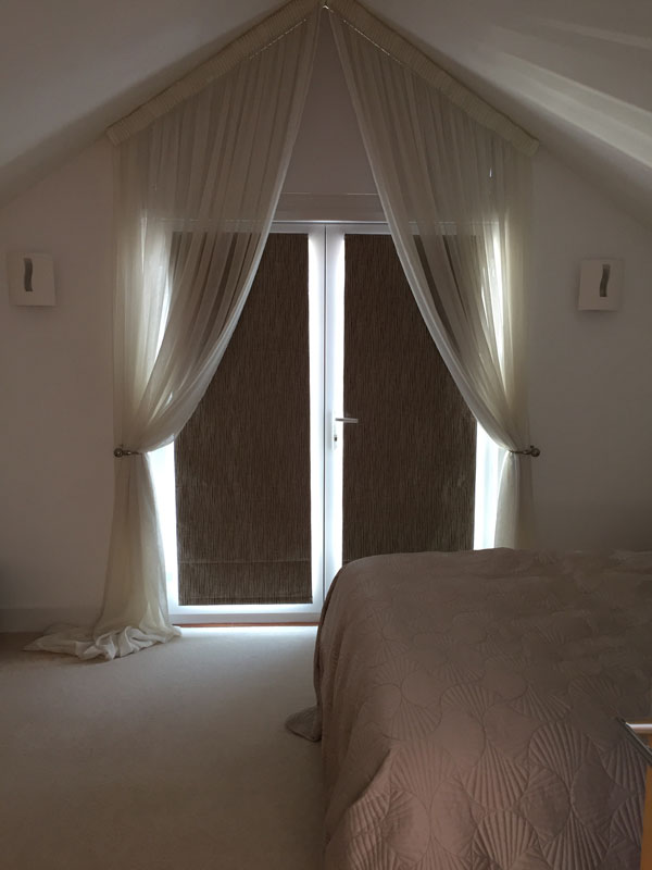 Apex window voile drapes