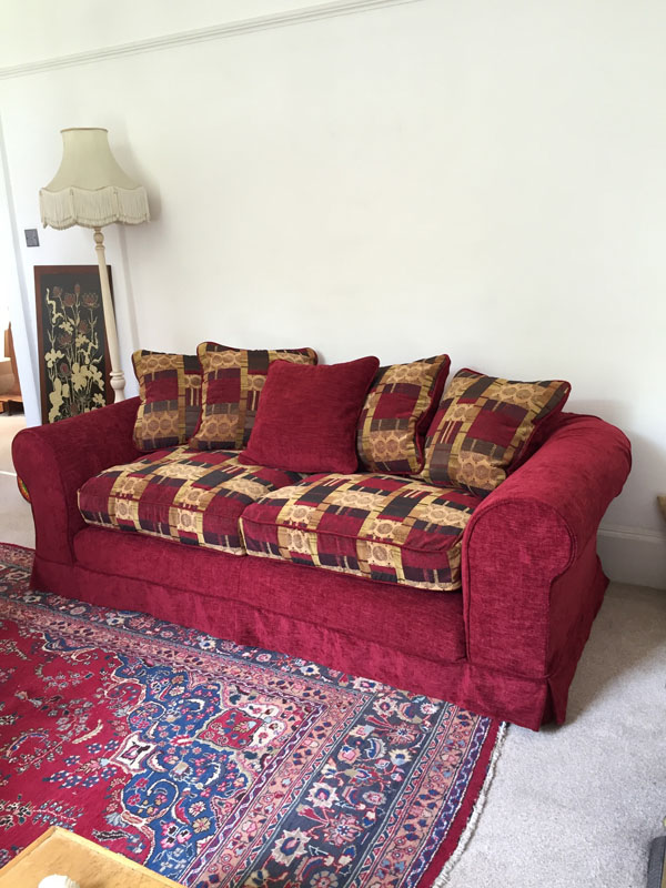 Cenille loose cover sofas for chesterfields