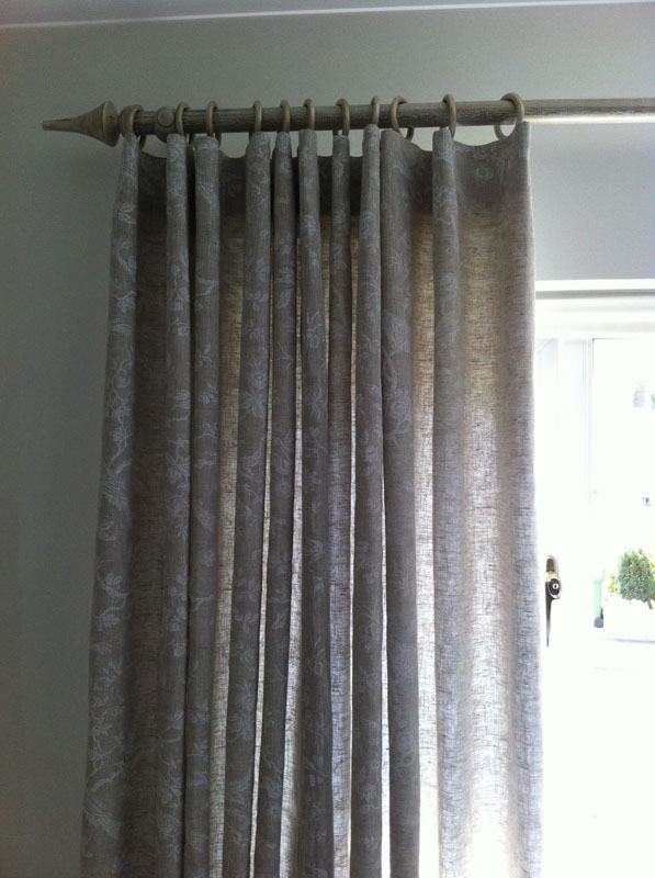Double hook aidanlna linen curtains