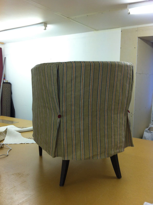 Tub chair loose covers