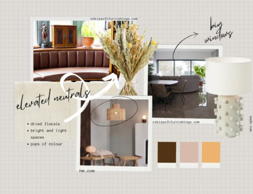 Elevated and relaxing neutrals.